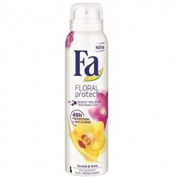 FA anti-perspirant FLORAL protect // ORCHID & VIOLA // 48 protection&anti-stains