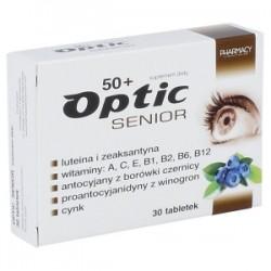 Optic Senior 50+, 30 tabletek // Suplement diety