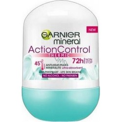 GARNIER // Action Control // THERMIC roll on 72h