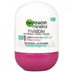 GARNIER Roll-on INVISIBLE 48h  ANTI-MARKS/STAINS/FADING // fresh scent