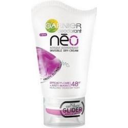 Garnier deodorant Neo FRUITY FLOWER // Intensywny antyperspirant, niewidoczny suchy krem // Skutecznosc+regeneracja 48h