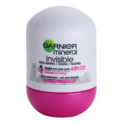 GARNIER Roll-on INVISIBLE 48h ANTI-MARKS/STAINS/FADING