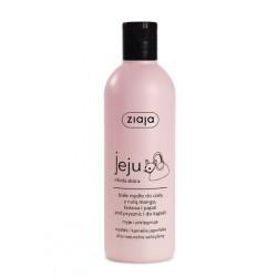 Ziaja Jeju - młoda skóra // Białe mydło do ciała z nutą mango, kokosa i papai // 300 ml.