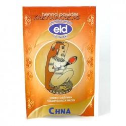 Henna powder - CHNA // Farba i odżywka koloryzująca włosy // wzmacnia włosy i zapobiega ich wypadaniu // 25g - ELD