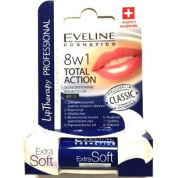 Eveline Lip Therapy // 8w1 Total Action Skoncentrowane SERUM DO UST SPF 15