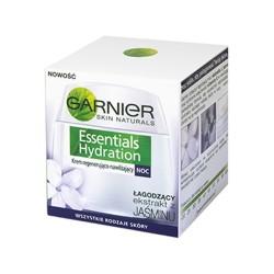 GARNIER ESSENTIALS HYDRATION krem regenerujaco-nawilzajacy na noc // Lagodzacy ekstrakt z Jasminu