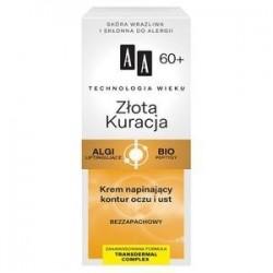AA TW Zlota Kuracja 60+ krem napinajacy kontur oczu i ust // Bezzapachowy