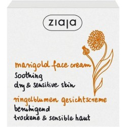 ZIAJA Marigold FACE CREAM // soothing  for dry & sensitive skin // 50ml