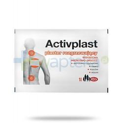 ACTIVPLAST Medica // plaster rozgrzewajacy pielegnujacy miejscowo okolice: krzyzowo-ledzwiowe, karku, plecow, kolan
