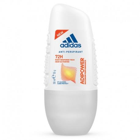 Adidas ADIPOWER for Women 72h Roll-On //  Anti-perspirant Deodorant // 50ml 1.7 fl oz