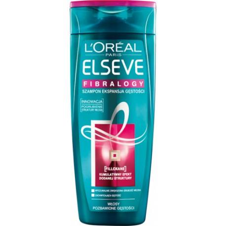 L'Oréal - ELSEVE - FIBRALOGY - Pogrubiający szampon do włosów cienkich - 400 ml