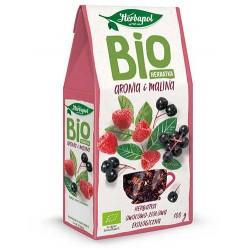 Bio Herbatka ARONIA I MALINA // ekologiczna herbatka owocowo-ziolowa Herbapol // 100g