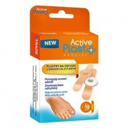 Active Plast PLASTRY NA ODCISKI z kwasem salicylowym // 6 sztuk