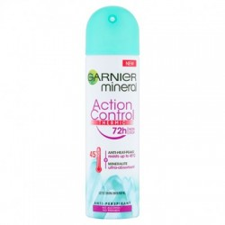 GARNIER Mineral Action Control Thermic 72h antiperspirant deodorant spray for women 150 ml // no alkohol, no paraben
