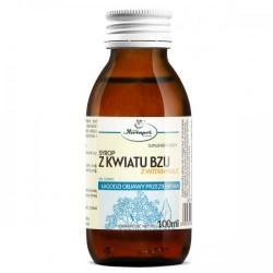 SYROP Z KWIATU BZU Z WITAMINA C  // Suplement diety // Hebapol