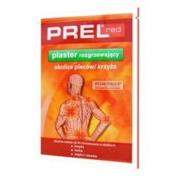 PREL red plaster rozgrzewajacy // okolice plecow, krzyza // miesnie, stawy // innowacyjna formula hydrozelowa