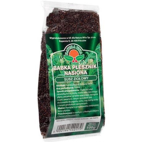 BABKA PLESZNIK nasiona - susz ziolowy // Natura Wita // 100g