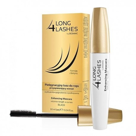 AA LONG 4 LASHES // Enhancing Mascara // volume, length, curves // black