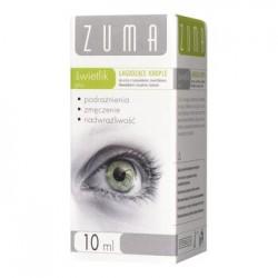 ZUMA Swietlik Plus // lagodzace krople do oczu ze swietlikiem, rumiankiem, blawatkiem i oczarem  // 10ml