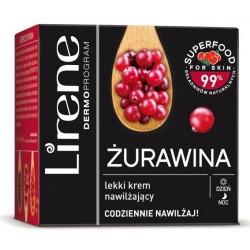 Lirene Superfood for skin // ZURAWINA Lekki Krem Nawilzajacy - codziennie nawilzaj // na dzien i noc // 50ml