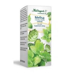 MELISA z szyszka chmielu - Herbapol // tabletki uspokajajace 30 sztuk