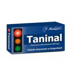 Taninal / tabletki stosowane tradycyjnie w biegunkach i zatruciach pokarmowych // 20 tabletek