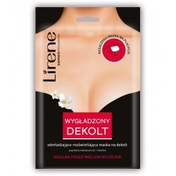 Lirene WYGLADZONY DEKOLT // odmladzajaco - rozswietlajaca maska na dekolt // poprawia elastycznosc i nawilza // na plachcie