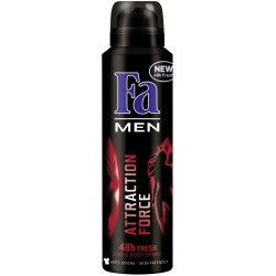 FA Men // ATTRACTION FORCE 48h fresH // Deo & body spray