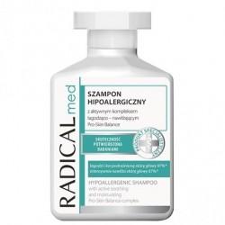 RADICAL med // Szampon hipoalergiczny z aktywnym kompleksem lagodzaco-nawilzajacym // lagodzi podraznienia // 300ml