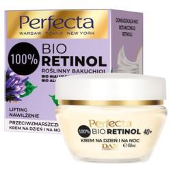 Perfecta100% BIO RETINOL  40+ // przeciwzmarszczkowy KREM  na dzien i na noc  //  LIFTING, NAWILZENIE //  50ML