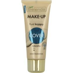 Bielenda Make-Up Academie Cover // FLUID KRYJACY 1 Naturalny / Technologia idealnego krycia