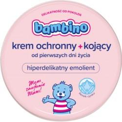 Bambino Krem ochronny+kojący dla niemowląt i dzieci od pierwszych dni zycia/ natluszcza i lagodzi podraznienia // 75 ml