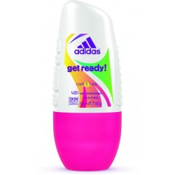 ADIDAS Get Ready! roll-on  48h ANTI PERSPIRANT cool & care //   NO ALCOHOL // 50 ml