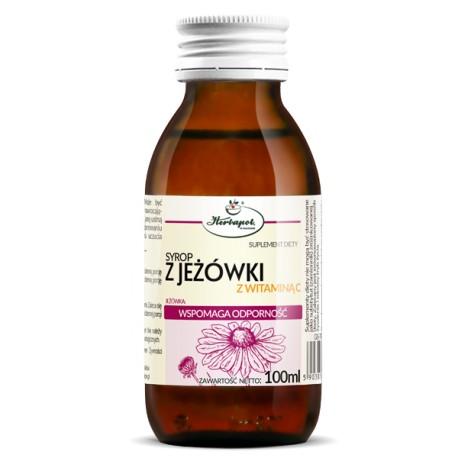 Syrop z JEZOWKI z witamina C - wspomaga odpornosc // Herbapol // 100ml
