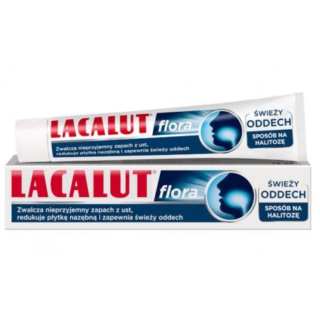 LACALUT Flora // swiezy oddech - sposob na halitoze // 75ml