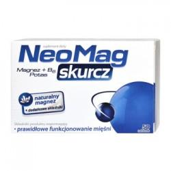 NEOMAG SKURCZ // Magnez+ B6+potas // Prawidlowe funkcjonowanie miesni // 50 tabletek