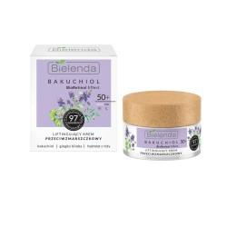 Bielenda BioRetinol BAKUCHIOL  50+ Liftingujący krem przeciwzmarszczkowy , dzień/ noc // 97% skladnikow pochodzenia naturalnego