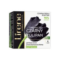Lirene CZARNY TULIPAN Organiczny 70+ // ODZYWIENIE perlowy krem przeciwzmarszczkowy // na dzien // 50ml