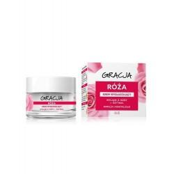 Miraculum Gracja ROZA // Krem wygladzajacy // Nawilza i rewitalizuje // Wyciag z rozy+ retinol // Dzien/noc