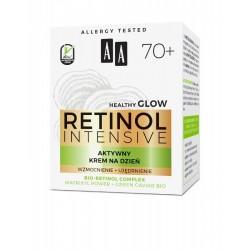 AA Retinol Intensive 70+ AKTYWNY Krem na dzien // wzmocnienie + ujedrnienie // bio-retinol, matrixyl power, green caviar // 50ml