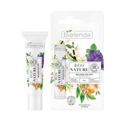 Bielenda ECO NATURE Mleczko waniliowe + figa + kwiat pomarańczy - balsam do ust regenerujący //spierzchnięte usta