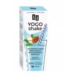 AA Yogo Shake JOGURTOWY KREM NAWILZAJACO-WYGLADZAJACY pod oczy // mogdaly & prebiotyki // 95% sklad naturalny // 15ml