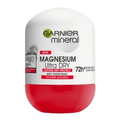 GARNIER Mineral MAGNESIUM Ultra DRY // Anti-perspirant  72 h NON STOP // NO ETHY ALCOHOL L