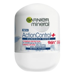 GARNIER Mineral Action Control + // CLINICALLY TESTED Antyperspirant 96h w kulce  // NO ETHYL ALCOHOL