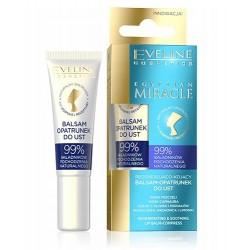 Eveline  EGYPTIAN MIRACLE  Regenerująco-kojący balsam-opatrunek do ust // 12  ml.