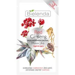 Bielenda RED GINSENG // Przeciwzmarszczkowa maseczka regenerujaca // koreanski czerwony zen-szen, japonskie grzyby shitake