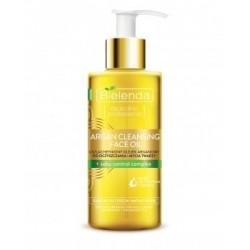 Bielenda ARGAN CLEANSING FACE OIL + sebu control complex // Uszlachetniony olejek arganowy do oczyszczania i mycia twarzy