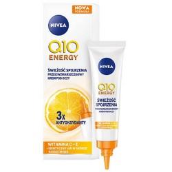 Nivea Q10 ENERGY // SWIEZOSC SPOjRZENIA Przeciwzmarszczkowy Krem pod oczy // 3 x antyoksydanty, wit. C +E // 15ml