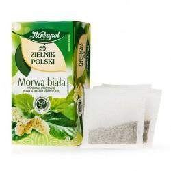 Morwa biala herbatka Herbapol // wspomaga utrzymanie prawidlowego poziomu cukru // 20 saszetek