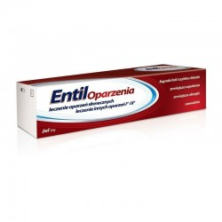 ENTIL Oparzenia zel - Aflofarm // leczenie oparzen slonecznych i innych oparzen I i II // 30g